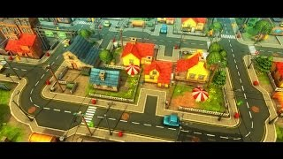 3D [Birlik]varlık Karikatür Şehir genel bakış Ve Çiftlik
