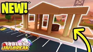 🔴 Roblox Jailbreak NEW BUILDING! MUSEUM ROBBERY SOON! | Jailbreak New Mini Update