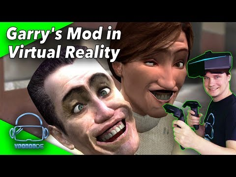 Garry's Mod in Virtual Reality - Die neue Mod ist da! Roomscale + Vive Controller Support!