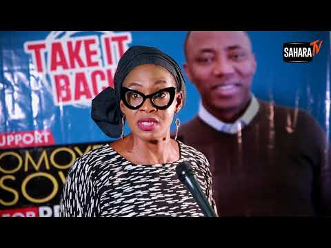 2019: Nigerians Are Tired Of Recycled Leaders -Kemi Olunloyo Endorses Sowore For President