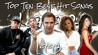 The Top Ten Best Hit Songs of 1993