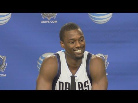 Harrison Barnes Media Day Interview | Dallas Mavericks | 2016-17 NBA Season
