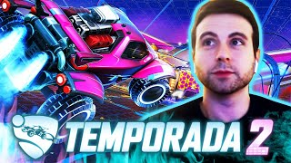 REGRESAMOS a ROCKET LEAGUE *NUEVA* Temporada 2
