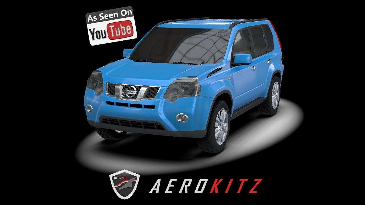Aerokitz aksesoris modifikasi nissan x trail vintage style youtube