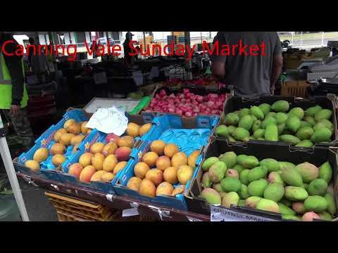 Perth Sunday Market Big Market Here Canning Vale Sunday Market