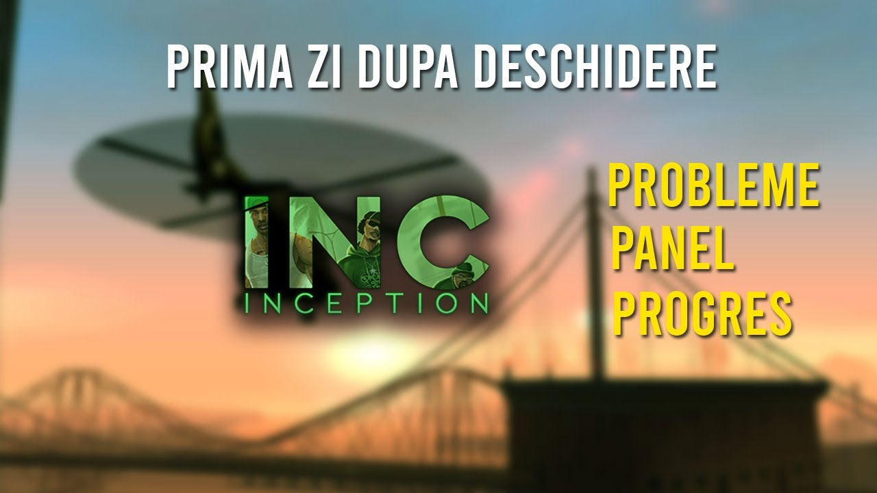PRIMA ZI DE INCEPTION