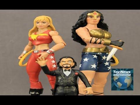 "DC Comics Multiverse 6"" Wonder Woman, Wonder Girl & Doctor Psycho Figures Review"