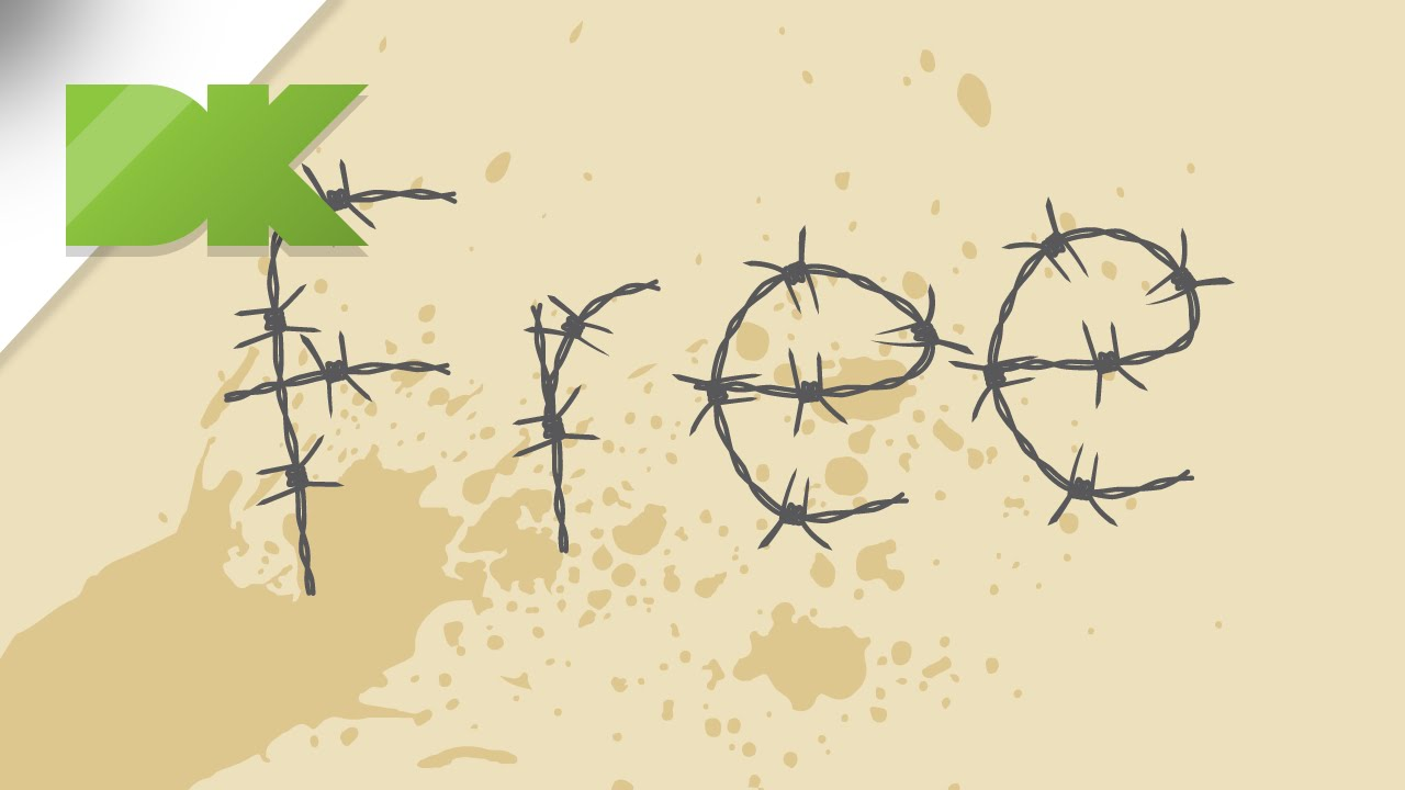 Barbed wire vector brush - Create Vector Barbed Wire Typography In Illustrator Tutorial 5
