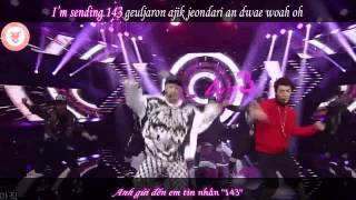 [Vietsub - Kara] 143 (I love you) - Henry (ft Donghae & EunHyuk)