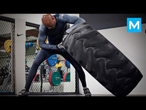 Anderson Silva Training for Next Fight | Muscle Madness