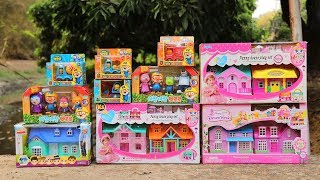 Toys Playset Unboxing Little Doll House - Pororo's fun Toy Dollhouse!