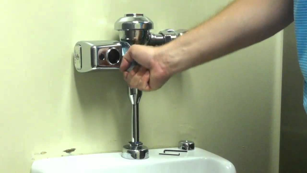 zurn flush valves ez flush retrofit kit how to install [ 1280 x 720 Pixel ]