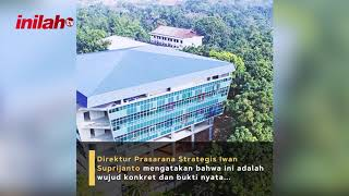 PUPR Selesaikan Fasilitas Pendidikan Perpustakaan Politeknik Negeri Jakarta - inilah.com