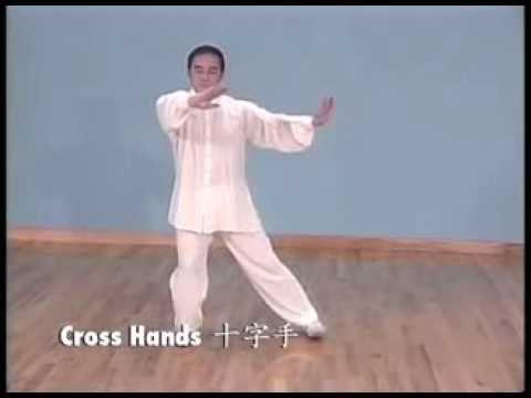 Simplified Tai Chi 24 form (YMAA Taijiquan) Yang style by Liang, Shou-Yu