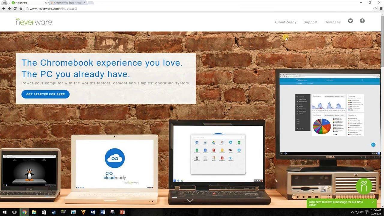 CloudReady Installation Tutorial - Chrome OS