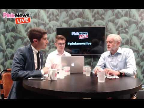 Jeremy Corbyn Interview