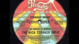 "The Nick Straker Band - Straight Ahead (12"" Electro Disco-Funk 1982)"