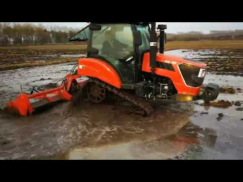 Small Crawler Tractors From China Work