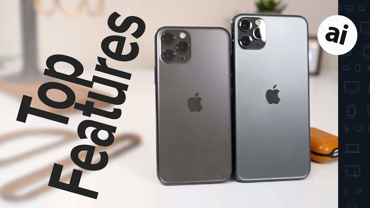Overview of top features iPhone 11 Pro, Max