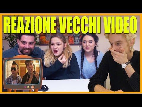 REAZIONE AI VECCHI VIDEO - feat. Chikovani, Jaser, EhiLeus, MurielBoom