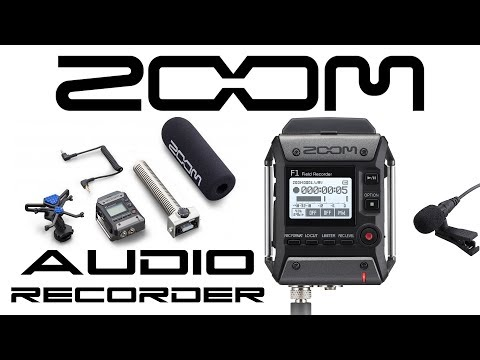 ZOOM F1 Field Recorder - Behold The Future