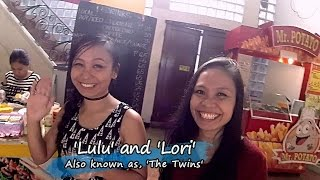 Karma Cafe in Dumaguete - Meet the Twins  :)