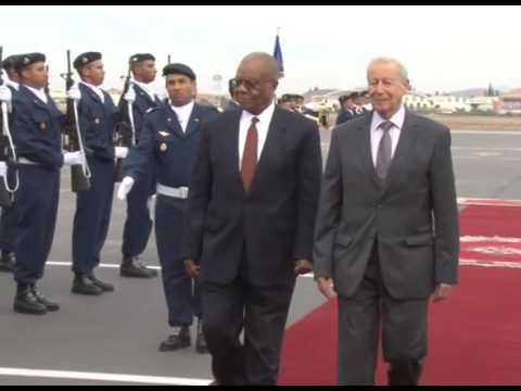 The Prime Minister DR. Barnabas Sibusiso Dlamini has arrived in Morocco