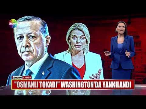 """""""Osmanlı Tokadı"""" Washington'da yankılandı"""