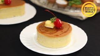 নরম তুলতুলে জাপানিজ পেনকেক ॥ Fluffy Japanese Pancake ॥ How To Make Pancake