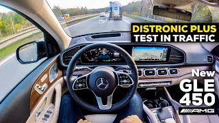 2019 MERCEDES GLE 450 DISTRONIC PLUS TEST IN TRAFFIC POV DRIVE Country Roads BETTER THAN TESLA?!
