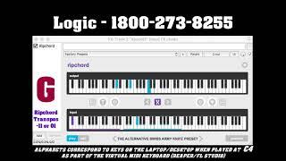 RIPCHORD FREE PRESET   Logic - 1800 273 8255 PLAYTHROUGH   Alternative swiss army knife preset