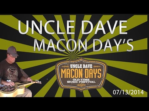 Uncle Daves Macon Days 2014 | Live Uncle Dave Macon Days 2014
