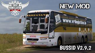 KSRTC Volvo Bus Mod In Bussid Simulator 2 9 2