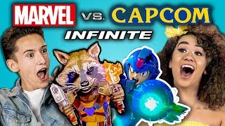 Download MARVEL VS. CAPCOM INFINITE GAMING TOURNAMENT (React: Gaming) Mp3 and Videos