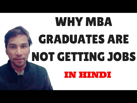 Why MBA graduates are not getting JOBS? | In Hindi | Youth Motivation