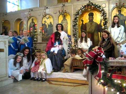 holy trinity greek orthodox cathedral christmas pageant 2010 - When Is Greek Orthodox Christmas