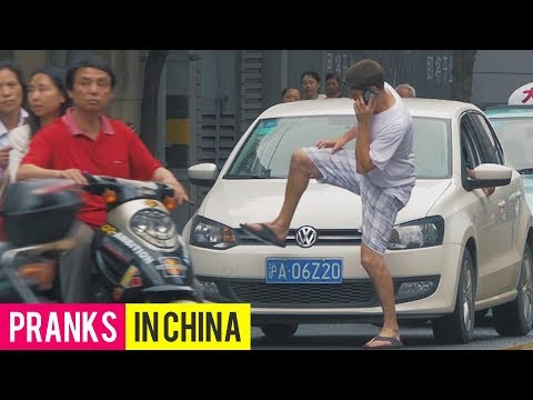 INVISIBLE Prank in China with Donnie Does