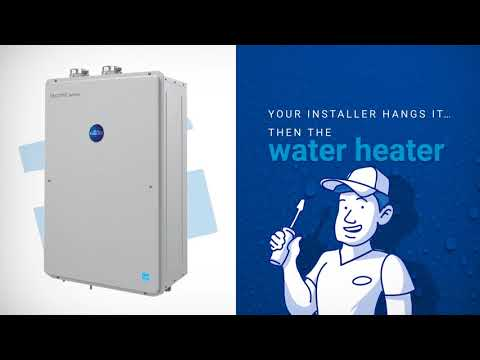 The New Richmond High-Efficiency Tankless Water Heater