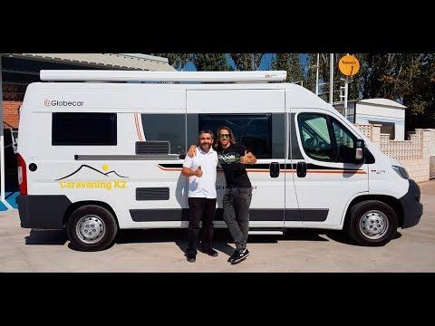 alquiler de furgonetas campers - caravaning k2 - youtube