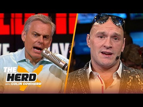 Tyson Fury previews fight with Wilder: 'This time it's going to be an easy fight' | PBC | THE HERD