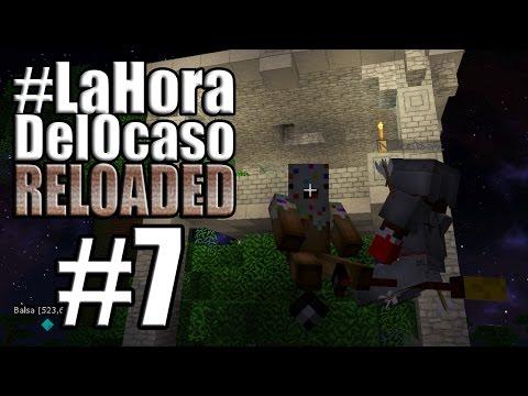 TIRANDO METEORITOS! | #LaHoraDelOcasoRELOADED Episodio 7 | Minecraft Mods Serie Fran MG y Nilco Bax