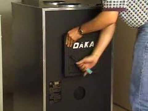 - INSTALLING A WOODBURNING FURNACE BY DAKA (Part 2 Of 4) - YouTube