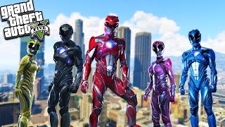 Video GTA 5 Power Rangers Mod! Epic Fighting & Super Powers! (GTA 5 Mods) download MP3, 3GP, MP4, WEBM, AVI, FLV Agustus 2018
