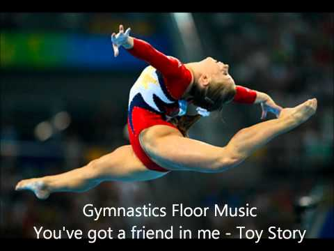 Gymnastics floor music - You've got a friend in me: Toy Story