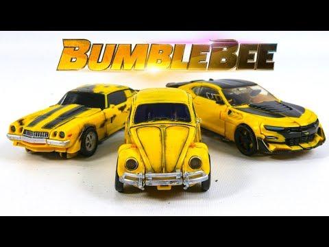 Transformers Movie 2007 2017 2018 Repaint Deluxe Bumblebee Camaro Beetle Vehicle Car Robot Toys
