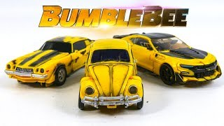 Transformers Movie 2007 2017 2018 Repaint Deluxe Bumblebee Camaro Beetle Vehicle Car Robot Toys
