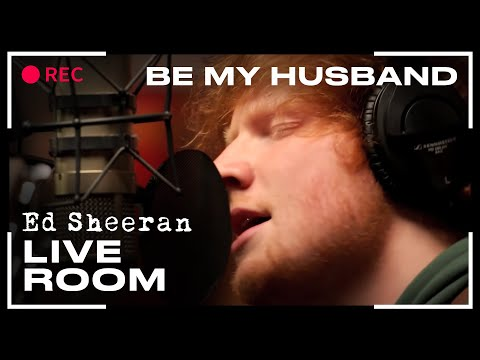 "Thumbnail: Ed Sheeran - ""Be My Husband"" (Nina Simone cover) captured in The Live Room"