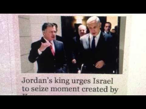 PROPHECY ALERT: Jordan's King Meets With Netanyahu