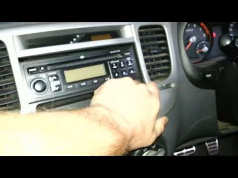 How to remove the radio from a Kia Rio