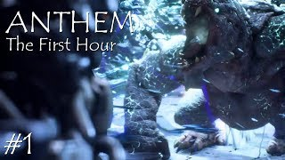 Anthem PS4 Gameplay #1 (The First Hour)